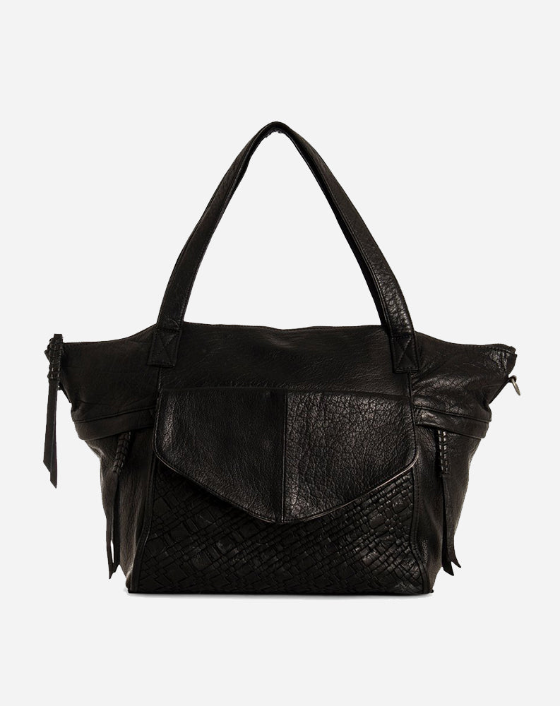 Panna Satchel in Black