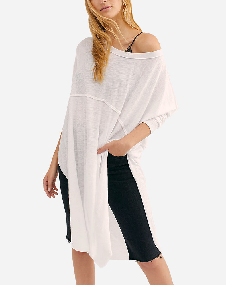 Tell Tale Tunic in White