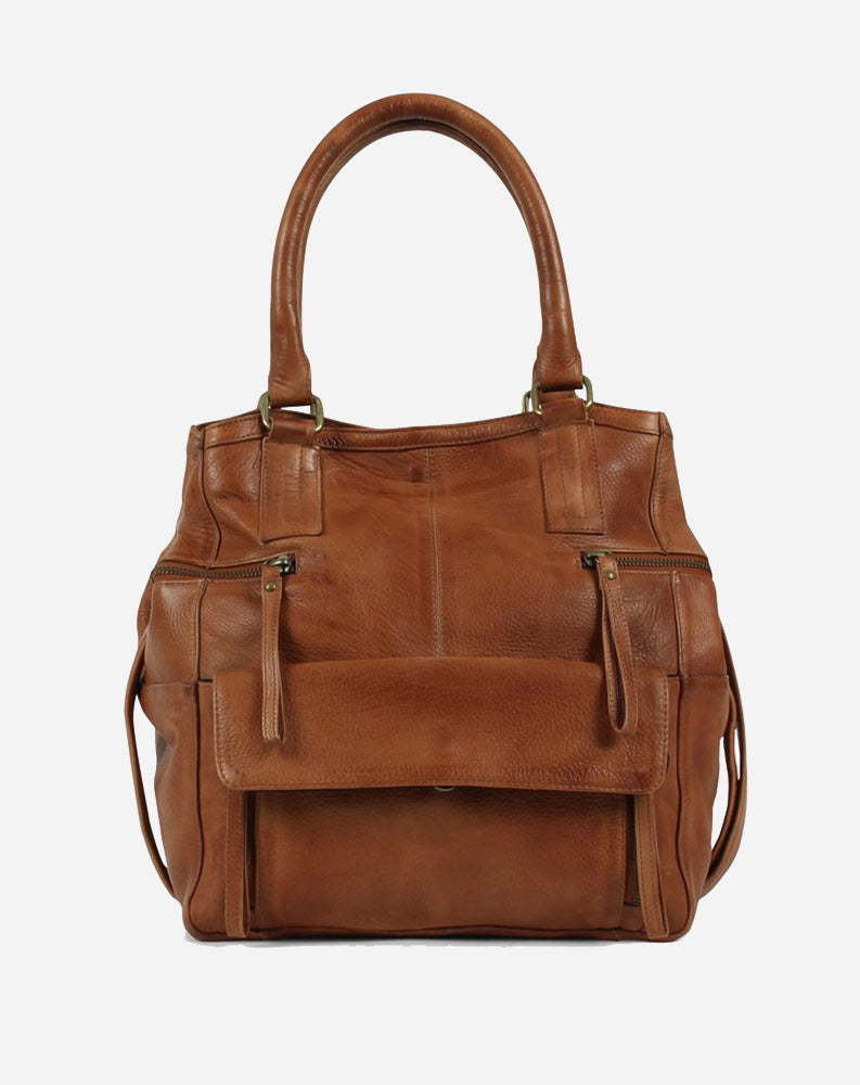 Hannah Small Bag in Cognac