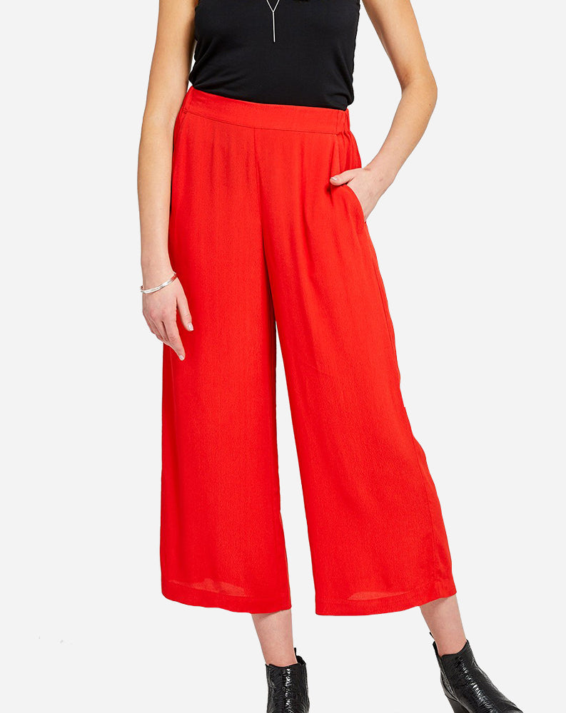 Lark Pant in Scarlet Red