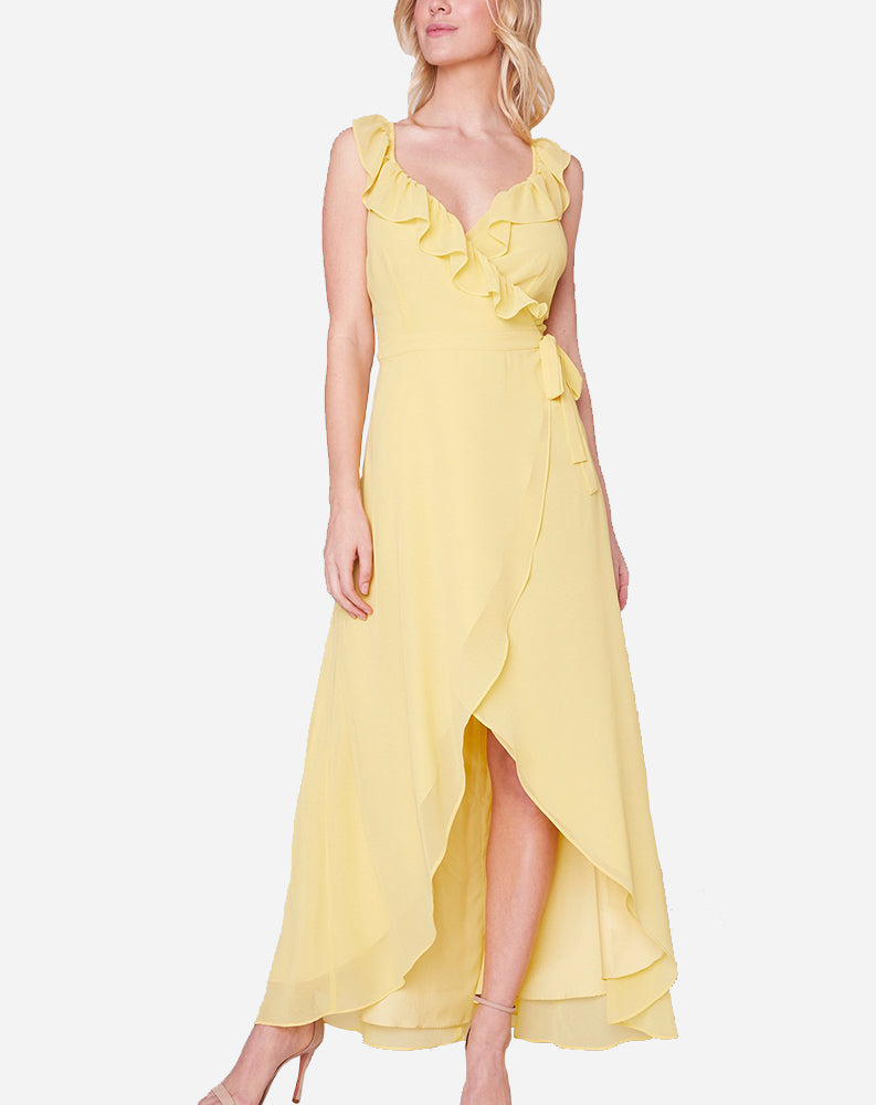 Formation Maxi Dress in Citrus