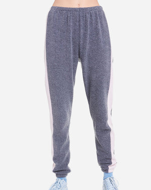 Knox Track Pant Solid in Night Rose
