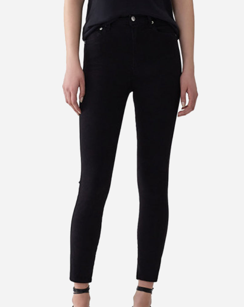 Roxanne Super High Rise Skinny in Jet