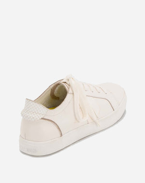 Zaga Sneaker in White Leather