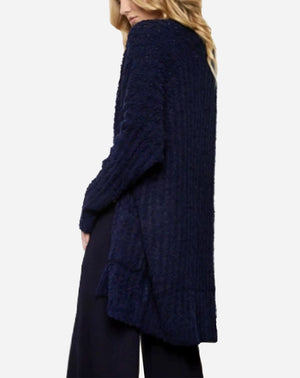 Cozy Cardigan in Navy