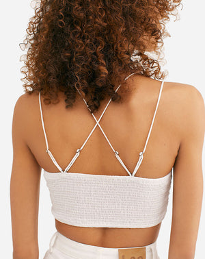 Ilektra Bralette in White