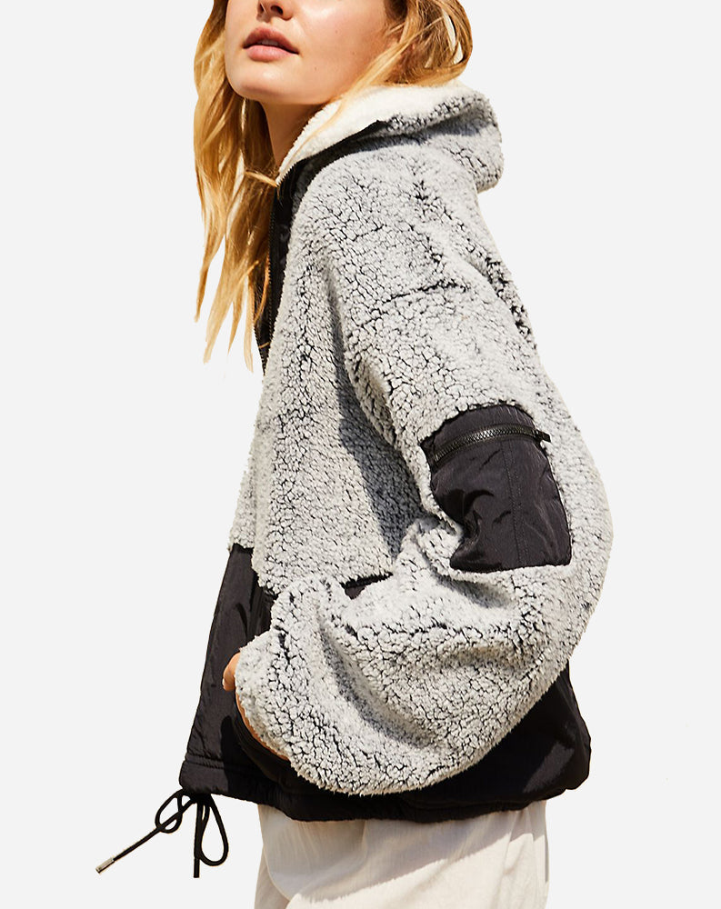 Free People BFF Pullover in Charcoal Heather