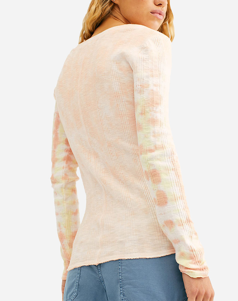 Big Sur Long Sleeve in Soft Pink Combo