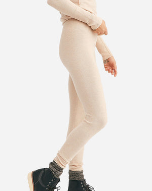 Think Thermal Legging in Latte