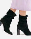 Dakota Heel Boot in Black