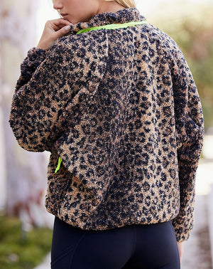 Queen Of The Jungle Jacket in Leopard