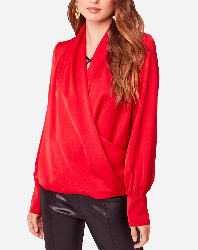 Mon Cheri Top in Red