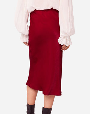 Sante Skirt in Ruby