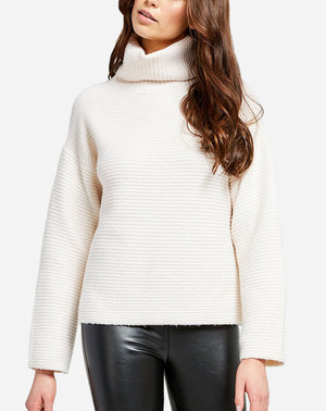Francis Sweater in Ivory/Cream
