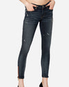 Original Zipper Skinny in Indigo