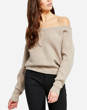 Camillo Sweater in Heather Frappe