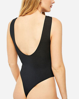 First Call Bodysuit in Black