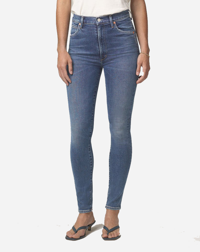 Chrissy High Rise Skinny in Story
