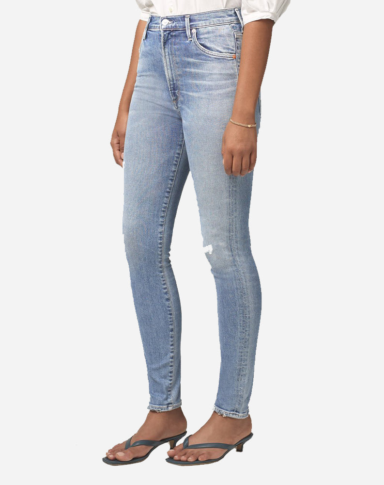 Chrissy High Rise Skinny in Islands