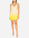 Rene Dress in Yellow Ombre