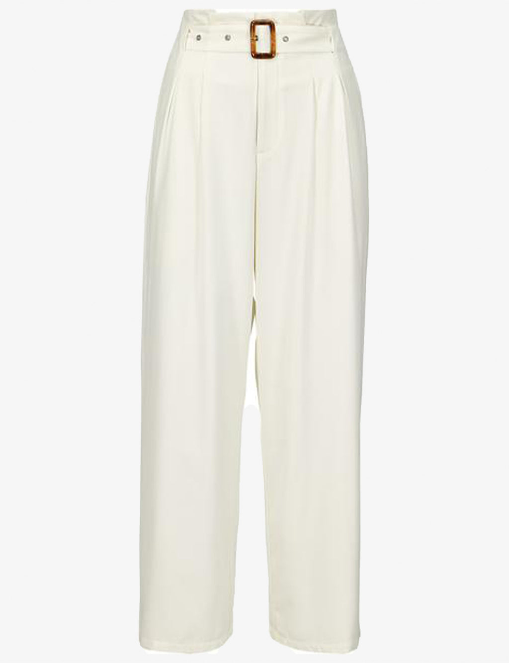Veronica Belted Pant in Ivory