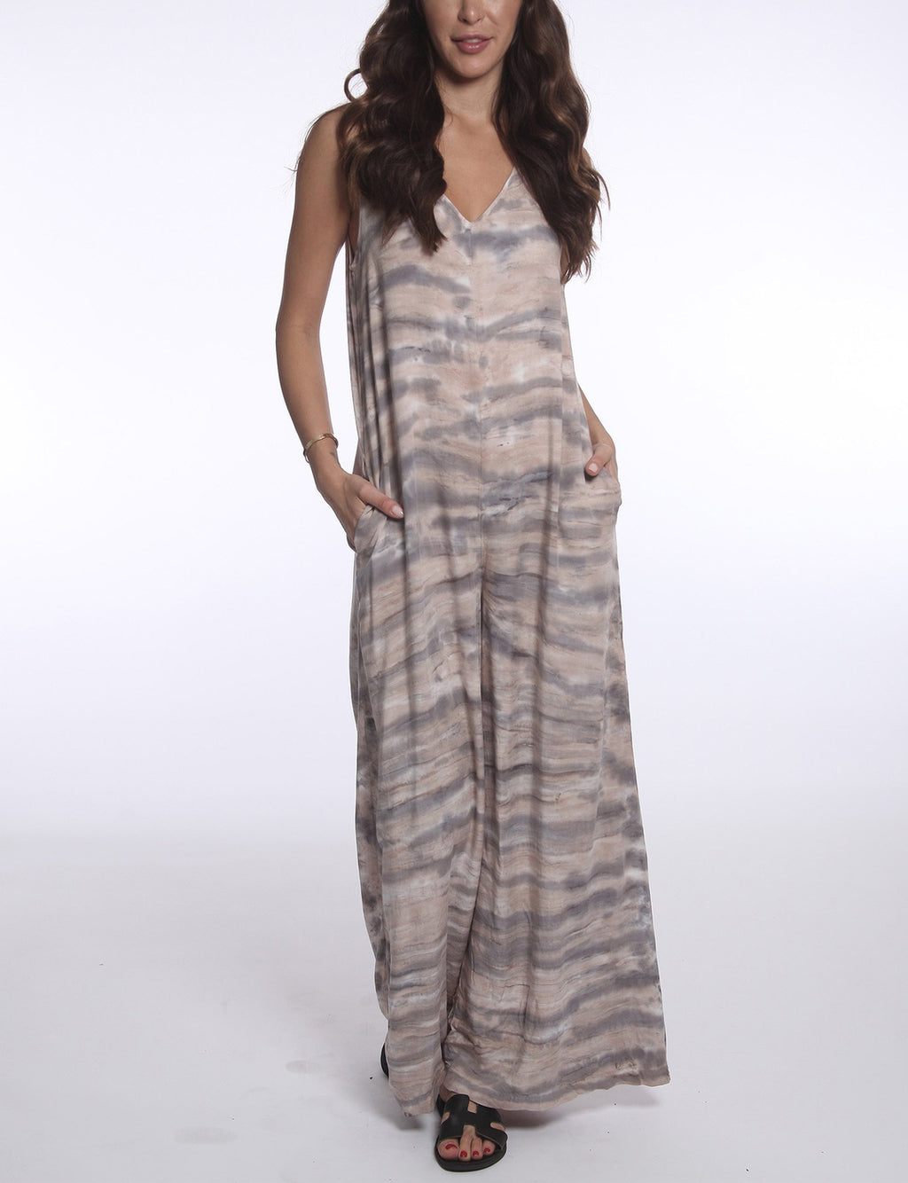 River + Sky Thalia Jumpsuit in Sandy Ash