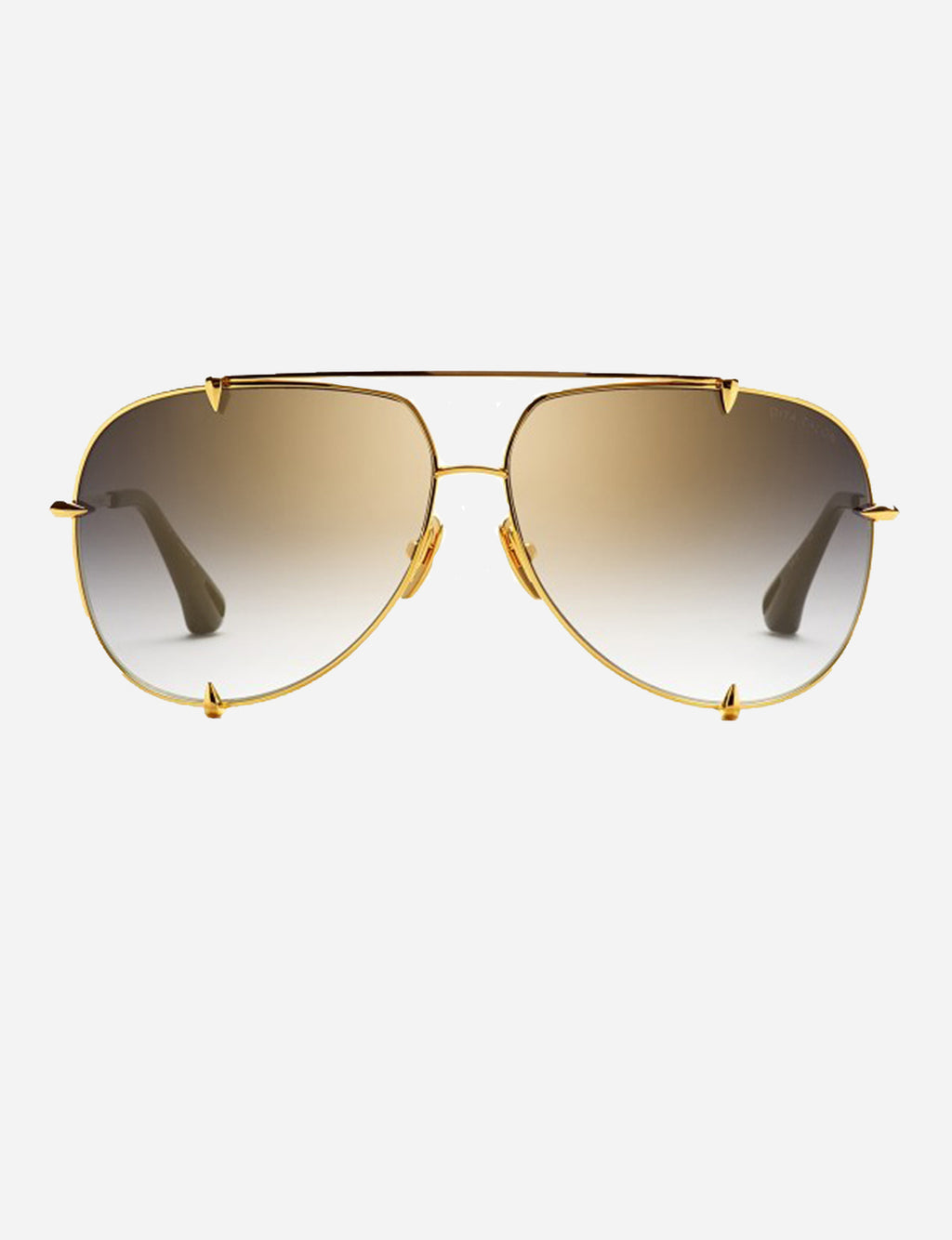 Dita Talon 18K Gold with Dark Grey to Clear-Gold Flash Lens