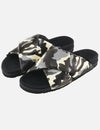 Roam Criss Cross Sandal in Grey Camo