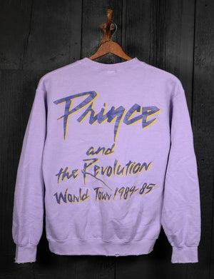 Madeworn Prince & The Revolution Crew Fleece in Lilac