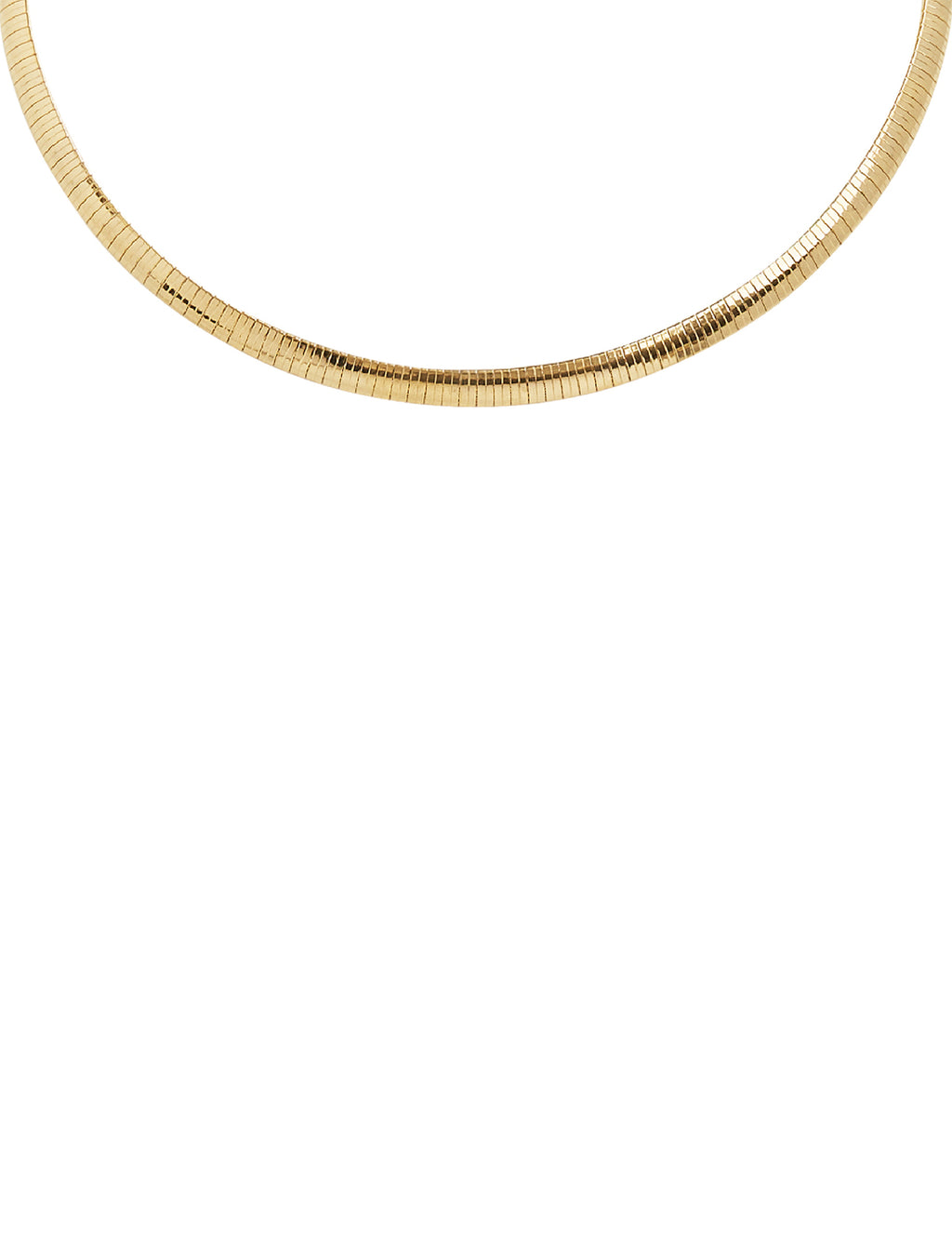 Snake Collar XL in Gold
