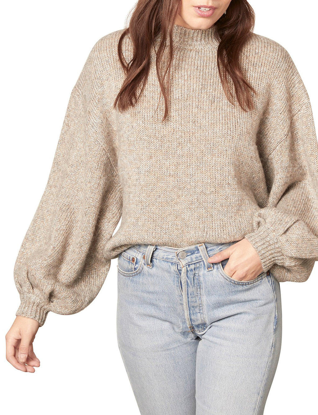 Tried To Warm You Sweater in Heather Grey