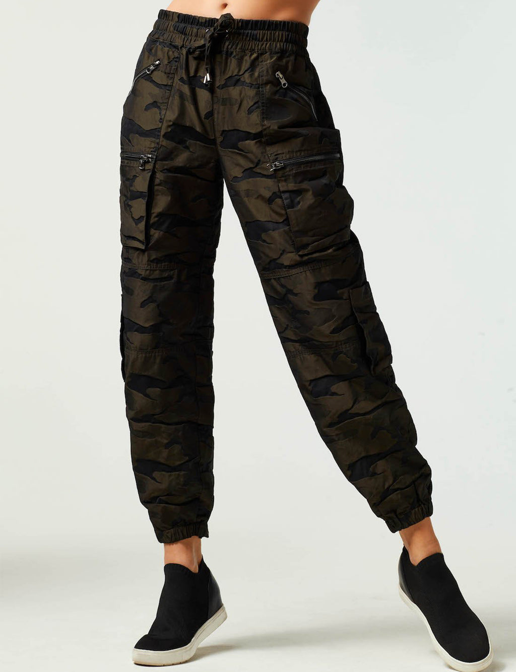 Jacquard Pant in Camo