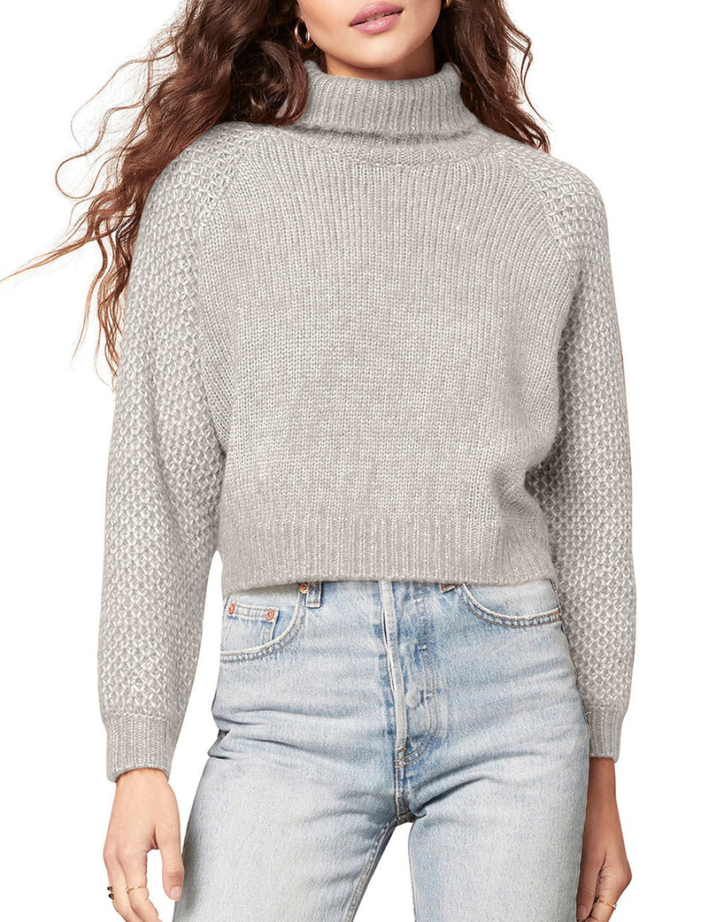 That Wing You Do Sweater in Light Heather Grey