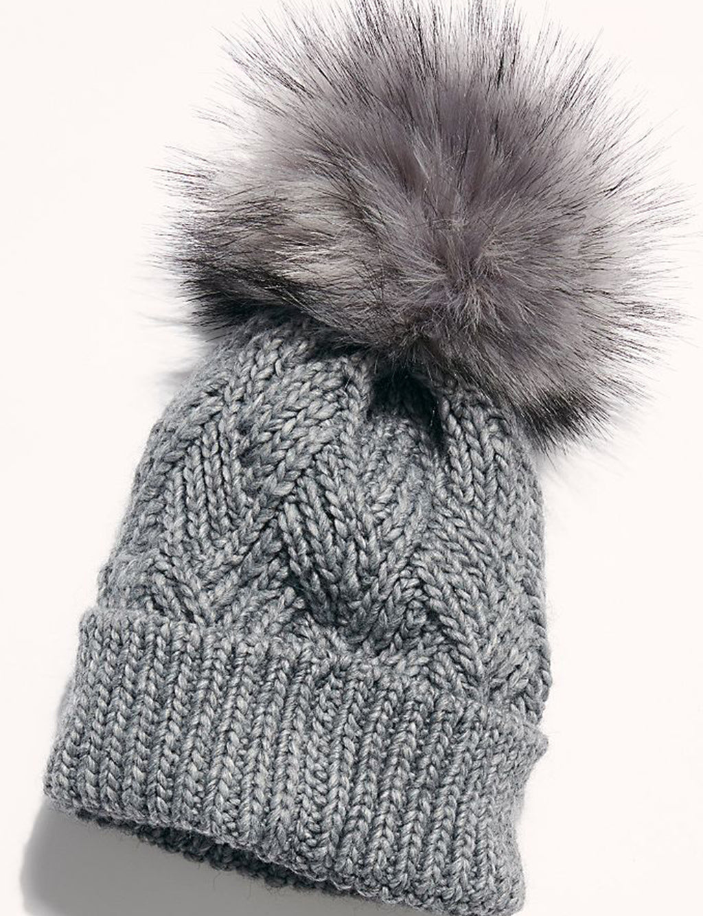 Pinnacle Pom Beanie in Charcoal