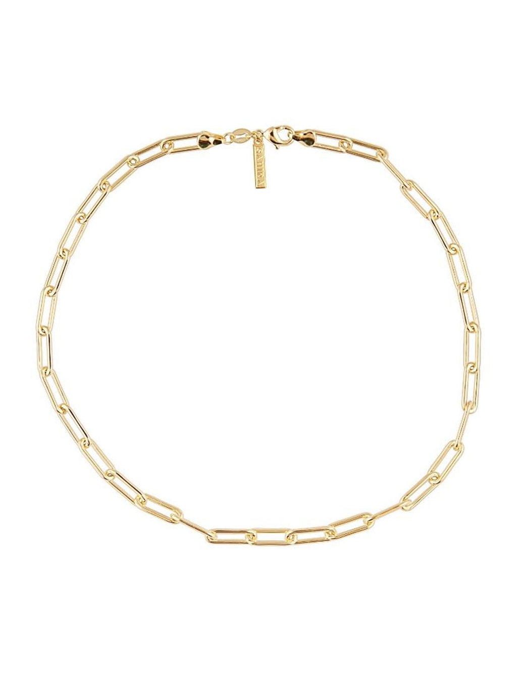"Carrie Link Necklace 20"" in Gold"