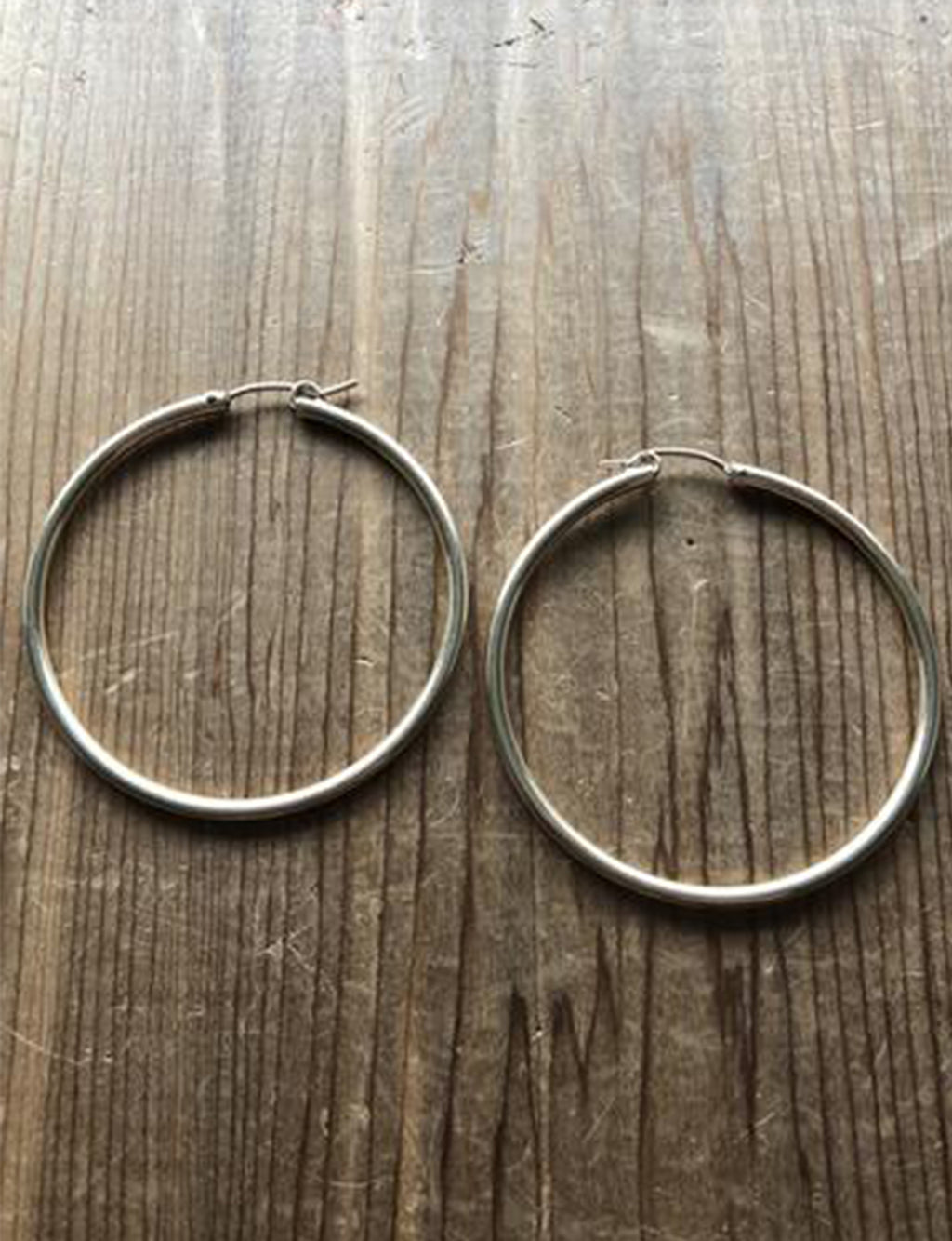 "Cherished Hoops 2"" in 14k Gold Filled"