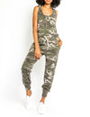 Tank Jumpsuit in Camo