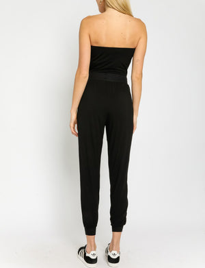 Strapless Jumpsuit in Black