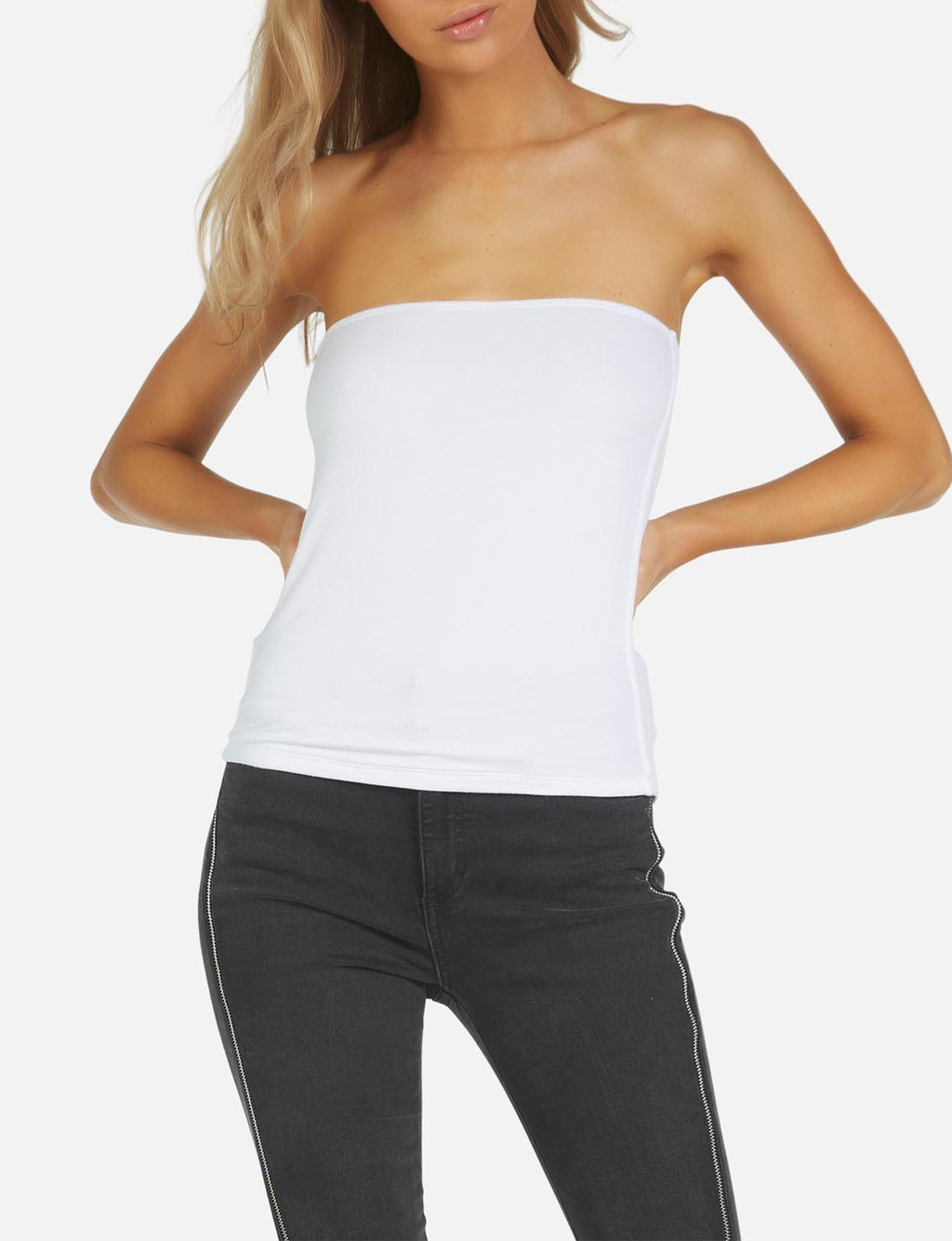 Axford Tube Top in White