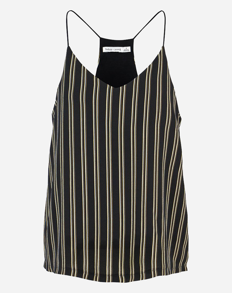 Black Stripe Cami in Black Stripe