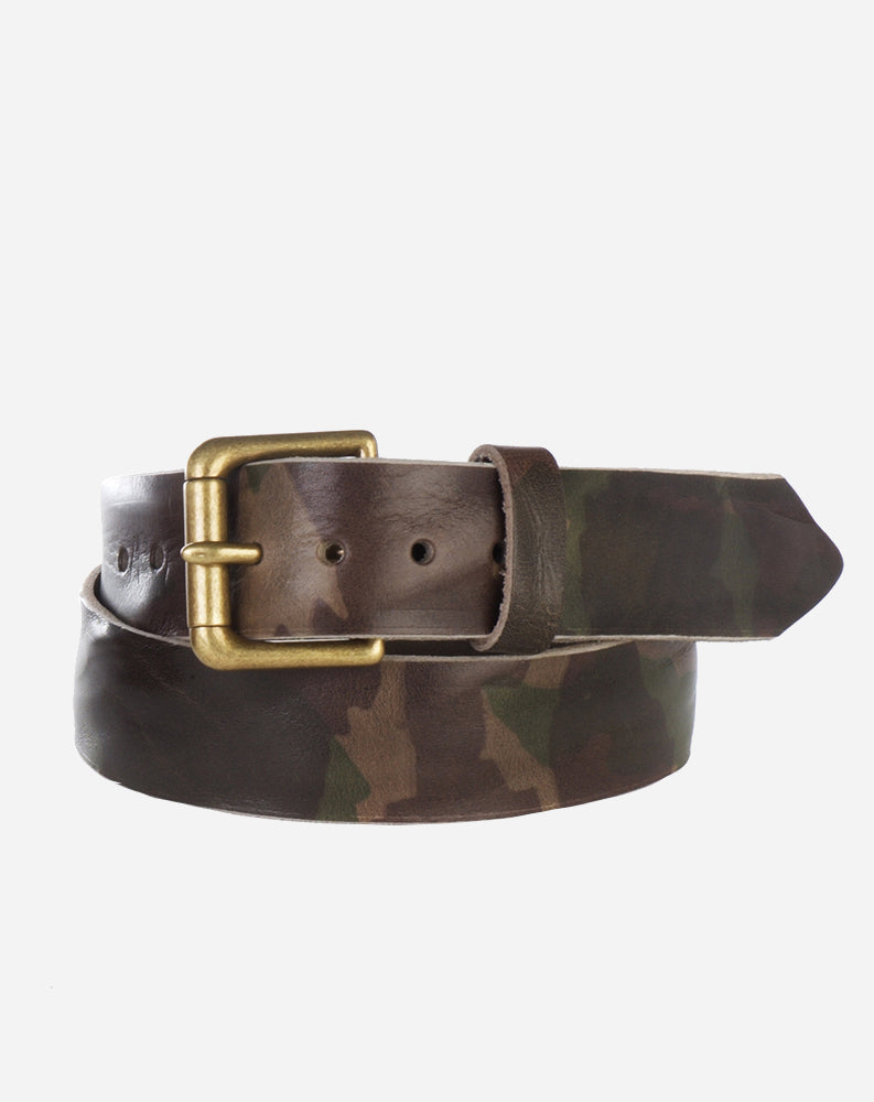 Benno Belt in Olive Camo