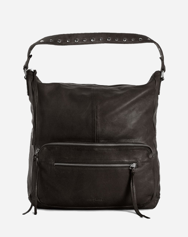 Pearl Hobo in Black