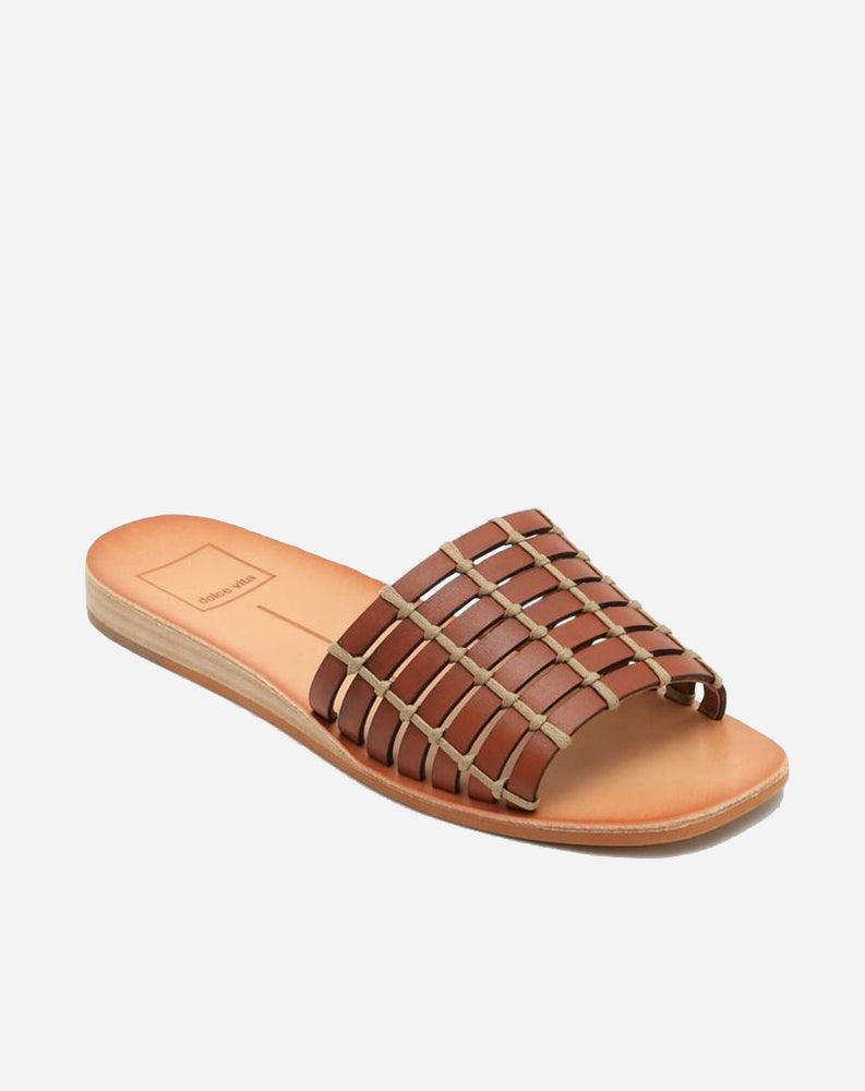Colsen Sandal in Brown Leather