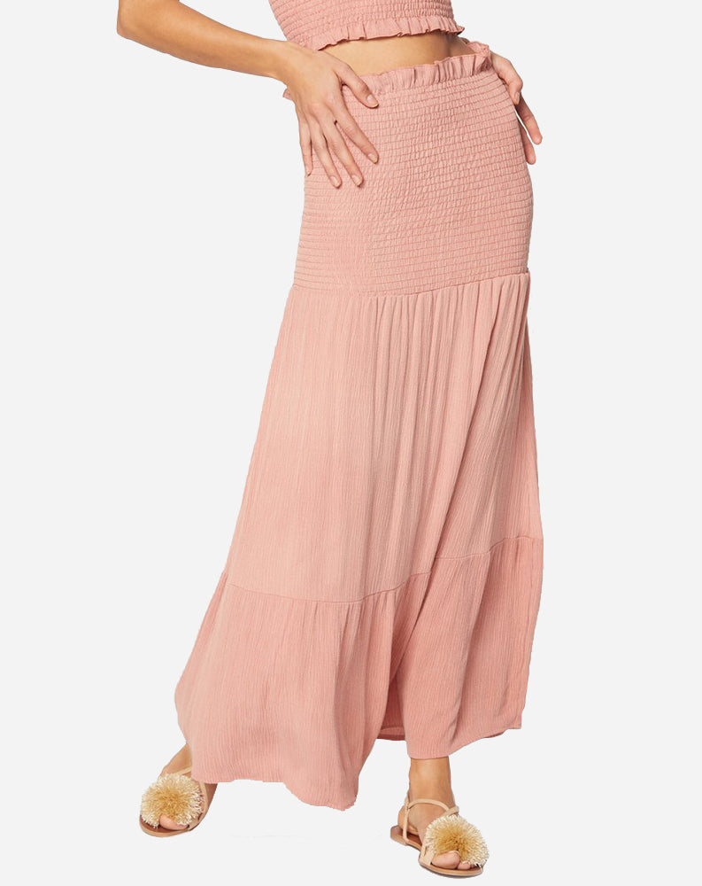 Cohen Crinkle Skirt in Pink