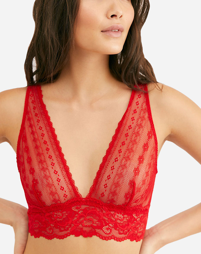 Lina Bralette in Red
