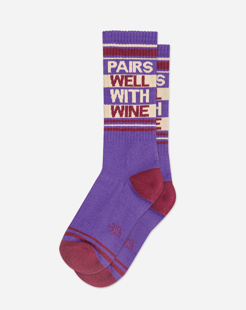 Pairs Well With Wine Socks