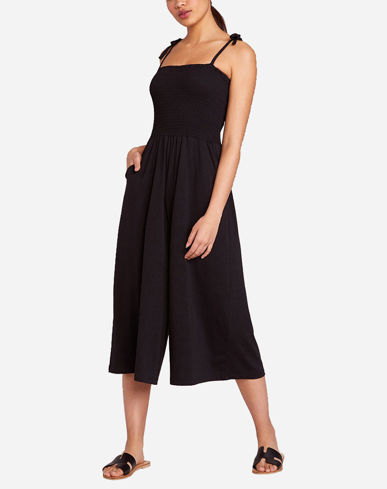 One Piece Wonder Wide Leg Jumpsuit in Black