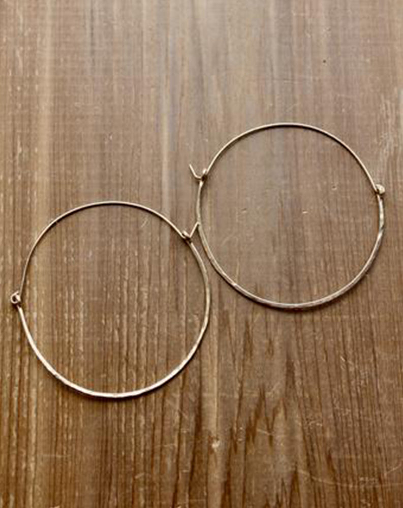 Dune Hoop in Gold