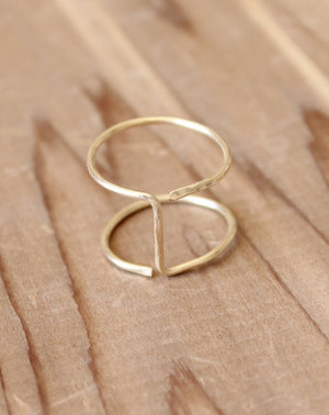 Mulholland Ring in Gold