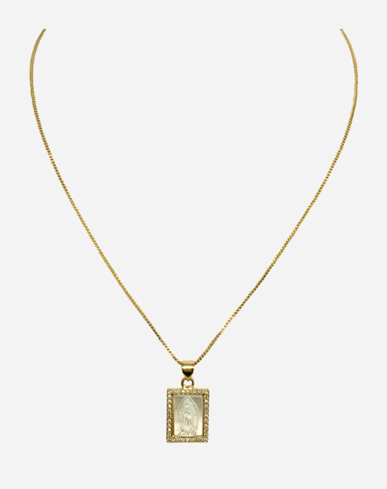 Dawne Necklace in Gold